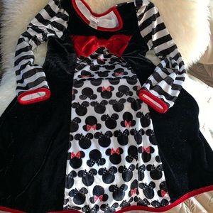 Long Sleeve Minnie Mouse Dress
